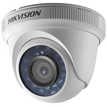 Camera Supraveghere Video Hikvision DS-2CE56D0T-IRPF28 CMOS 2MP IR 20m Alb