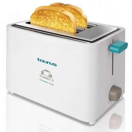 Prajitor de paine Taurus PTTOF301 2 felii 6 trepte 750W Alb