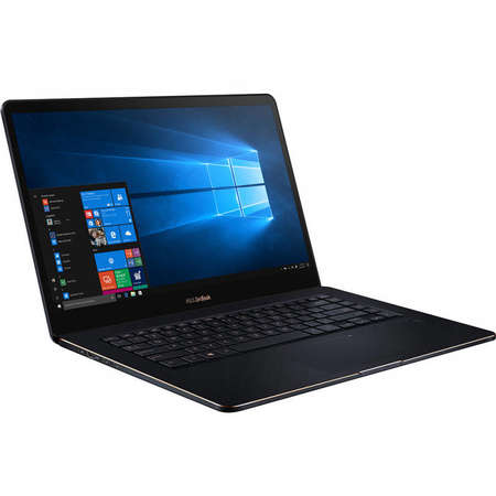 Laptop Asus ZenBook Pro UX550GE-BO016R 15.6 inch FHD Touch intel Core i7-8750H 16GB DDR4 512GB SSD nVidia GeForce GTX 1050 Ti 4GB Windows 10 Pro Deep Dive Blue
