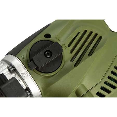 Ciocan rotopercutor Heinner ROH87 Mandrina 32 mm 3 Burghie 770RPM 1500W Verde