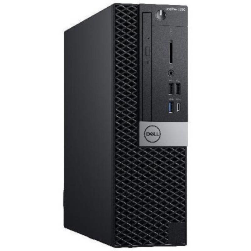 Sistem desktop OptiPlex 5060 SFF Intel Core i5-8500 8GB DDR4 128GB SSD Windows 10 Pro Black 3Yr BOS thumbnail