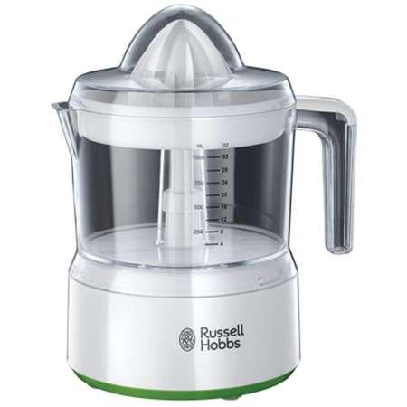 Storcator de citrice RUSSEL Explore 23850-56 Control ajustabil pulpa 1 litru 30W Alb