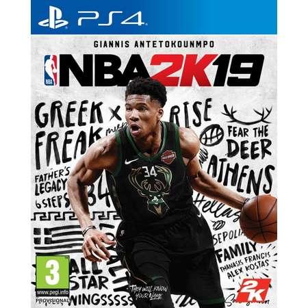 Joc consola Take 2 Interactive NBA 2K19 pentru PS4