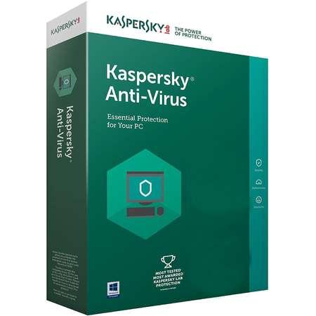 Kaspersky Anti-Virus European Edition 1 an 1 utilizator Reinnoire Box