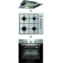 Pachet Samus Cuptor incorporabil SC616GTXV + Plita incorporabila PS646GXS + Hota telescopica HS602TX