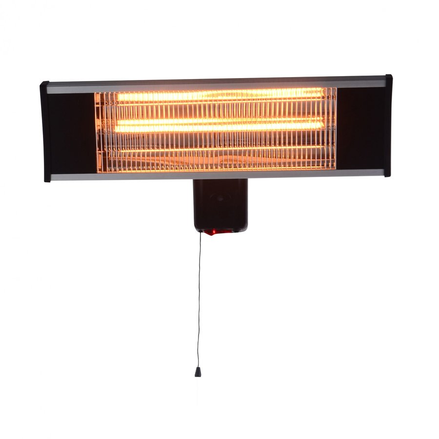 Incalzitor electric VITG010 1500W Lampa carbon IP 65 Argintiu thumbnail
