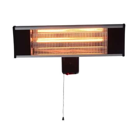 Incalzitor electric Heinner VITG010 1500W Lampa carbon IP 65 Argintiu