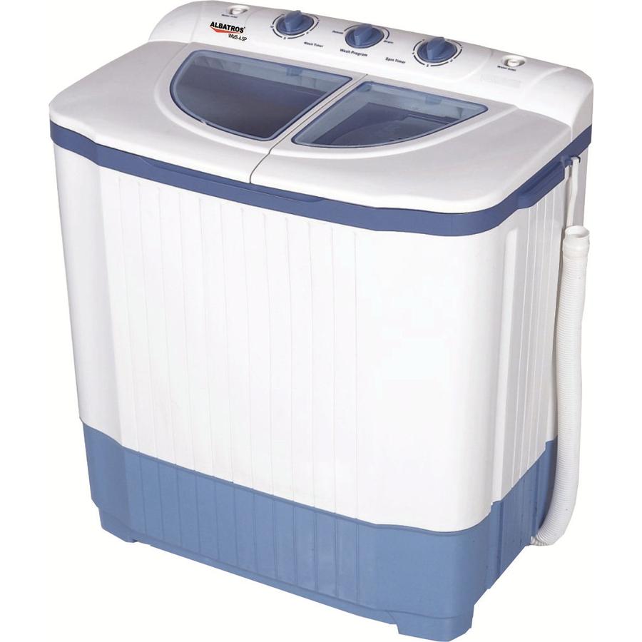 Masina de spalat rufe semiautomata WMS 4.5P 4.2kg cu storcator alba