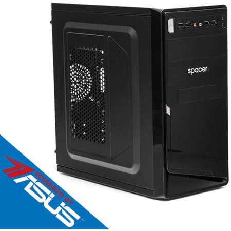 Sistem desktop Start V2 Powered by ASUS Intel Celeron Dual-Core J1800 2.41 GHz Intel HD Graphics 2GB DDR3 120GB SSD 250GB HDD 450W Black