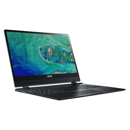 Laptop Acer Swift 7 SF714-51T-M7HA 14 inch FHD Touch Intel Core i7-7Y75 8GB DDR3 256GB SSD Windows 10 Home Obsidian Black