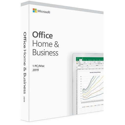Office Home and Business 2019 English EuroZone Medialess 1 User thumbnail