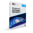BitDefender Internet Security 2019 1 an 2 utilizatori Retail Box