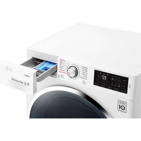 Masina de spalat rufe LG F4J6VY2W Clasa A+++ 1400 rpm Capacitate 9 kg 14 programe Alb