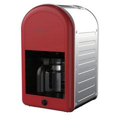 Cafetiera Studio Casa Retro 70 1000W 1.25 litri Rosu / Inox