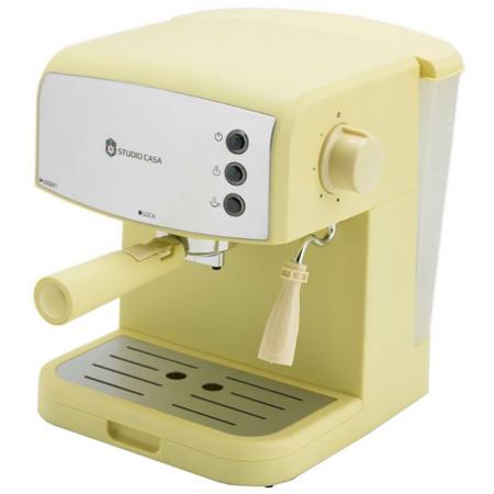 Espressor manual Studio Casa Retro 90 850W 1.5 litri Galben