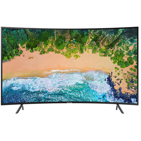 Televizor Samsung LED Smart TV Curbat UE49NU7372 124cm Ultra HD 4K Black Clasa A