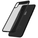 Dual Clear Bumper Negru pentru Apple iPhone X