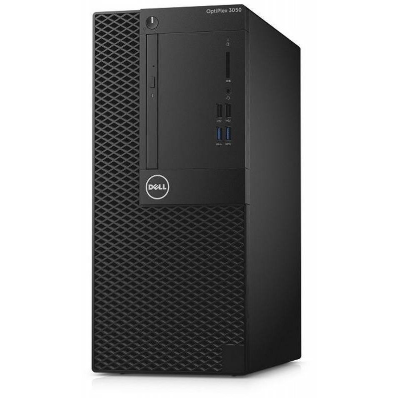 Sistem desktop OptiPlex 3050 MT Intel Core i3-7100 8GB DDR4 1TB HDD Windows 10 Pro 3Yr BOS thumbnail