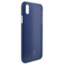 Ultra Slim Air Clear Blue 0.3mm pentru Apple iPhone X / XS
