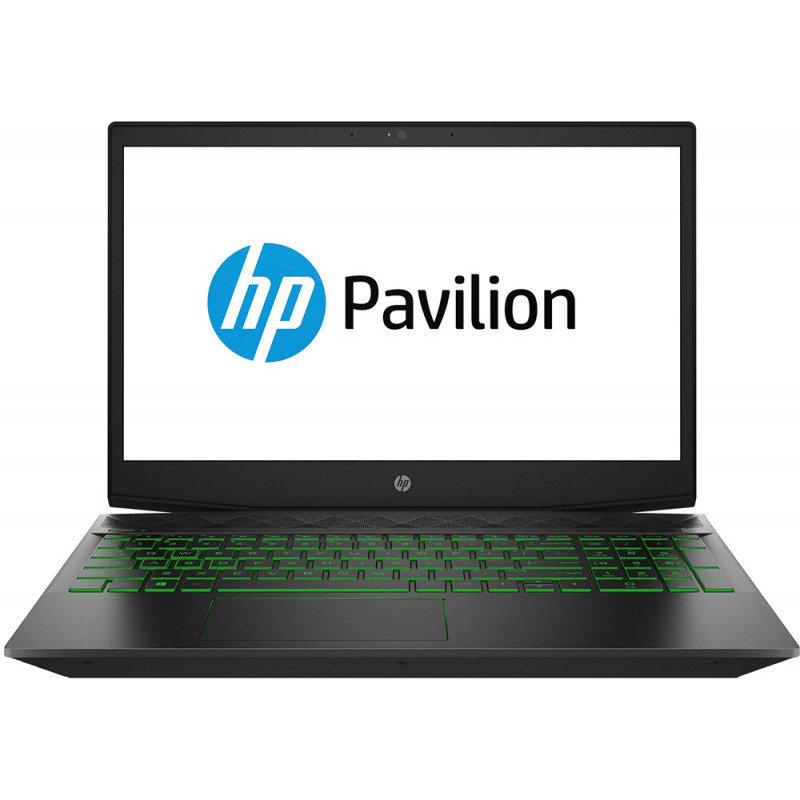 Laptop Pavilion 15-cx0010nq 15.6 inch FHD Intel Core i7-8750H 8GB DDR4 1TB HDD 128GB SSD nVidia GeForce GTX 1050 Ti 4GB Shadow Black thumbnail