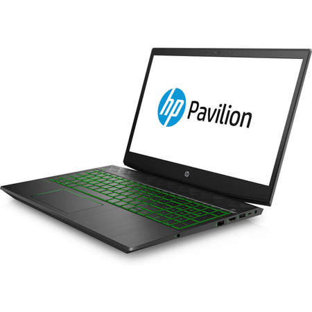 Laptop HP Pavilion 15-cx0010nq 15.6 inch FHD Intel Core i7-8750H 8GB DDR4 1TB HDD 128GB SSD nVidia GeForce GTX 1050 Ti 4GB Shadow Black