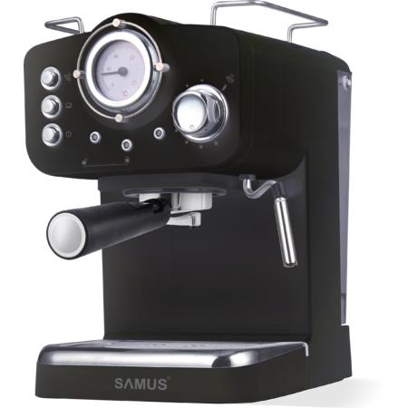 Espressor cafea Samus Espressia Black 1100W 1600 ml 15 bari