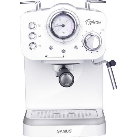 Espressor cafea Samus Espressia White 1100W 1600 ml 15 bari