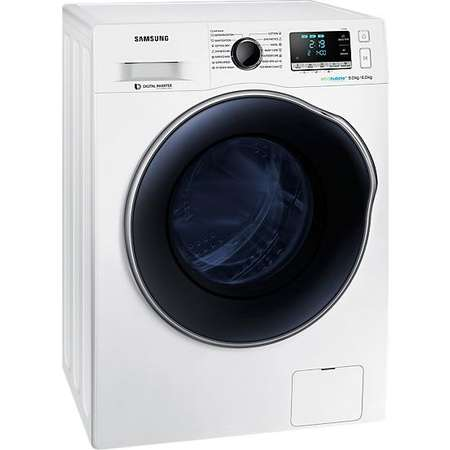 Masina de spalat rufe cu uscator Samsung WD90J6A10AW Clasa A 1400 rpm  Alb