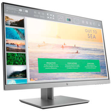 Monitor HP EliteDisplay E233 23 inch 5ms Black Silver