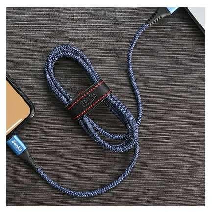 Cablu de date Benks D26 Chidian Lightning 1.2m Albastru