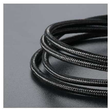 Cablu de date Benks D21 microUSB magnetic 1.2 m Negru