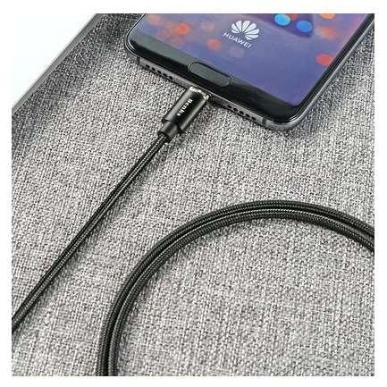 Cablu de date Benks D21 USB USB-C magnetic 1.2 m Negru