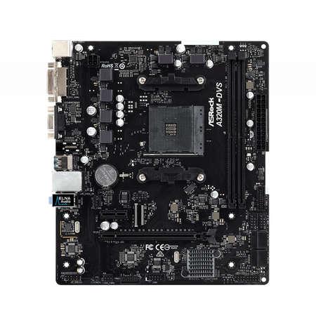 Placa de baza Asrock A320M-DVS R3.0 AMD AM4 mATX