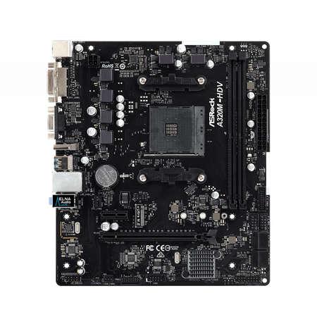 Placa de baza Asrock A320M-HDV R3.0 AMD AM4 mATX