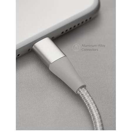 Cablu de date Anker PowerLine+ II Lightning 1.8m Argintiu plus husa cadou