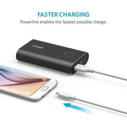Cablu de date Anker PowerLine MicroUSB 1.8m Alb