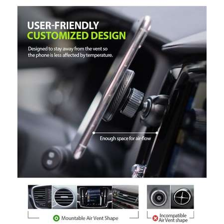 Suport auto universal Ringke Magnetic Power Clip