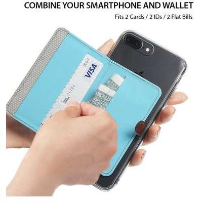 Port card Ringke Albastru inchis cu functie suport
