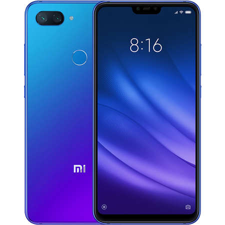 Smartphone Xiaomi Mi 8 Lite 128GB 6GB RAM Dual Sim 4G Blue