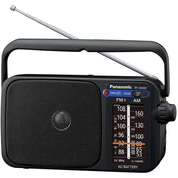 Radio portabil RF-2400DEG-K FM / AM Negru