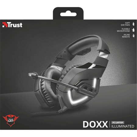 Casti Gaming Trust GXT 380 Doxx Black