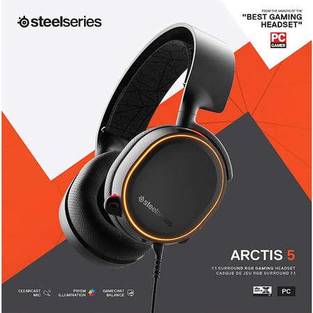 Casti Gaming SteelSeries Arctis 5 2019 Edition Black