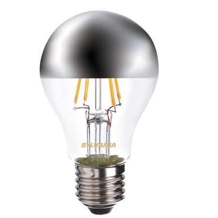 Bec LED SYLVANIA ToLedo Retro A60 Silver Crown E27 4W 450 lm A++ lumina calda