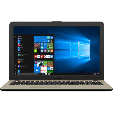 Laptop Asus VivoBook 15 X540UA-DM972 15.6 inch FHD Intel Core i3-8130U 4GB DDR4 256GB SSD Chocolate Black