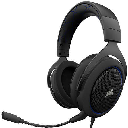 Casti Gaming Corsair HS50 Blue