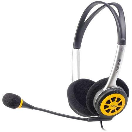 Casti Microlab K250 Black / Yellow