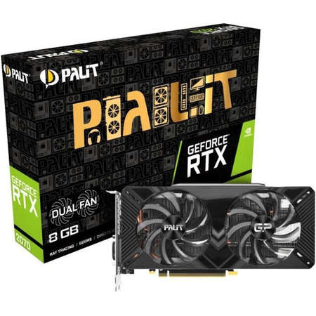 Placa video Palit nVidia GeForce RTX 2070 Dual GDDR6 256bit