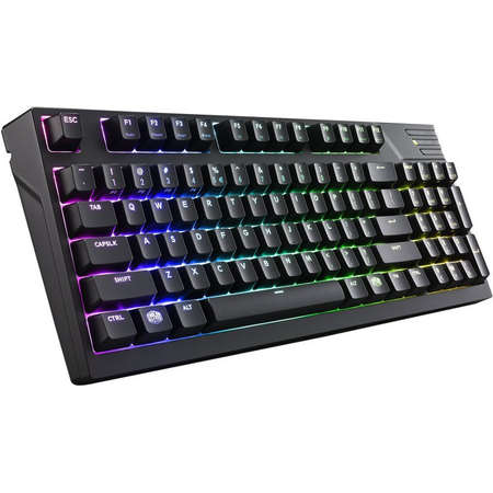 Tastatura Gaming Cooler Master MasterKeys Pro M RGB Cherry MX Red Switch