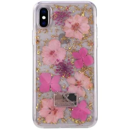 Husa Protectie Spate WK Design Amber pentru Apple Iphone X/XS Flower