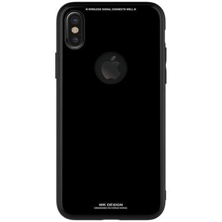 Husa Protectie Spate WK Design Azure pentru Apple Iphone X/XS Negru